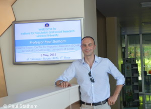 Paul Statham at Mahidol University